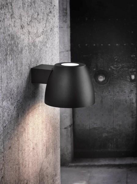 Nordlux Bell LED 76391003 Black Wall Light