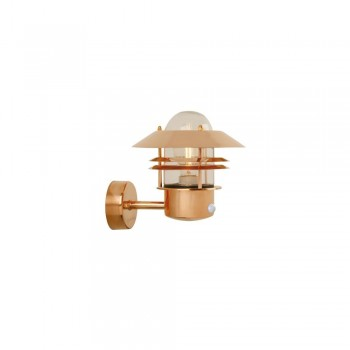 Nordlux Outdoor Blokhus 25031030 Copper Wall Up with sensor Light