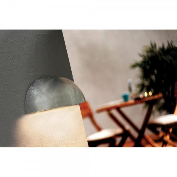 Nordlux Bowler 28601131 Galvanized Wall Light