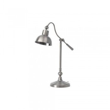 Libra 037801 Satin Grey Table Lamp