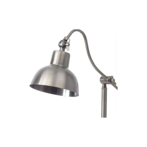 Libra 037801 Satin Grey Table Lamp