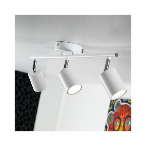 Nordlux Explore 74830001 White 3-Rail Light