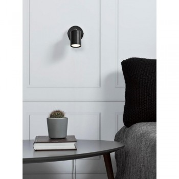 Nordlux Explore 72091003 Black Wall Light