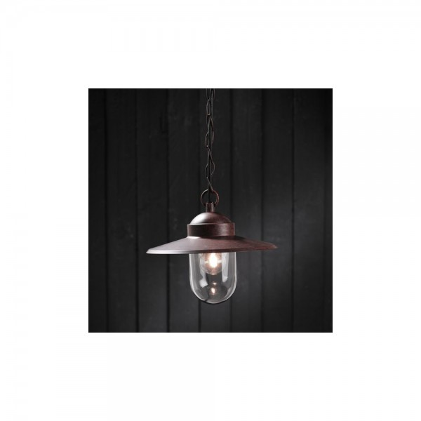 Nordlux Outdoor Luxembourg 72805009 Rusty Pendant Light