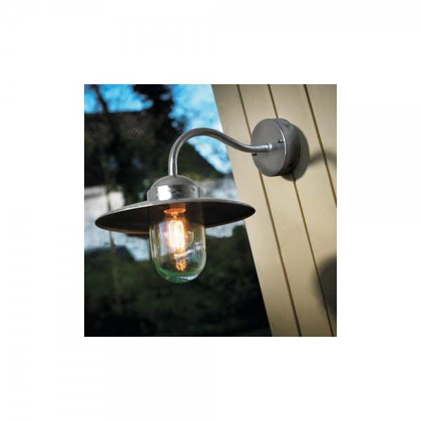 Nordlux Outdoor Luxembourg 22671031 Galvanized Wall Light