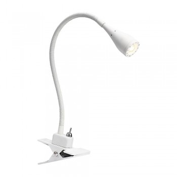Nordlux Mento 75582001 White Clamp Spot Light