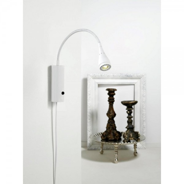 Nordlux Mento 75531001 White Wall Light