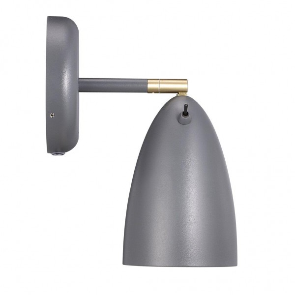 Nordlux Nexus 10 77271010 Grey Wall Light