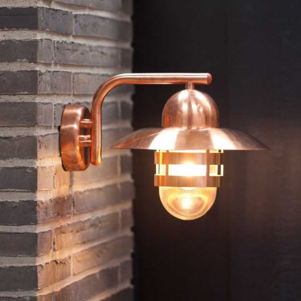 Nordlux Nibe 24981030 Copper Wall Light