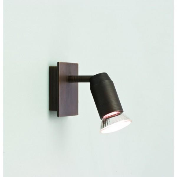 Astro Lighting 1283001 Magna Single Bronze Spotlight