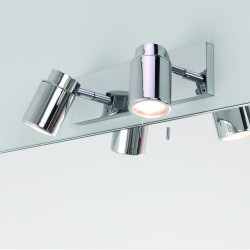 Astro Lighting 1282005 Como Polished Chrome Bathroom Spotlight