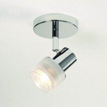 Astro Lighting 1285001 Tokai Single Polished Chrome Bathroom Spotlight