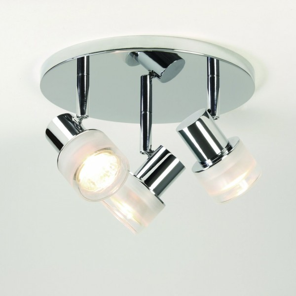 Astro Lighting 1285002 Tokai Triple Polished Chrome Bathroom Spotlight
