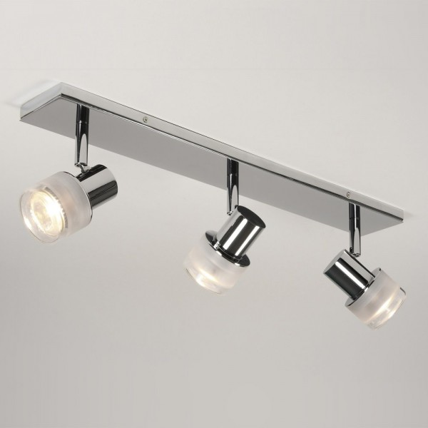 Astro Lighting 1285003 Tokai Polished Chrome 3 Bar Bathroom Spotlight