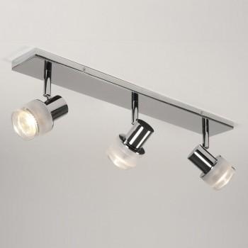 Astro Lighting 1285003 Tokai Polished Chrome 3 Bar Bathroom Spotlight
