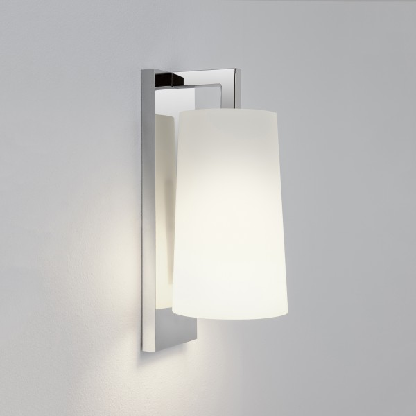 Astro 1297001 Lago 280 Chrome Bathroom Wall Light