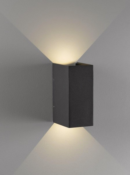Nordlux Norma 77611010 Grey Wall Light