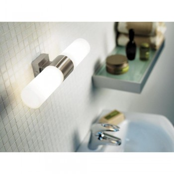 Nordlux Tangens 17141032 Brushed Steel Double Wall Light