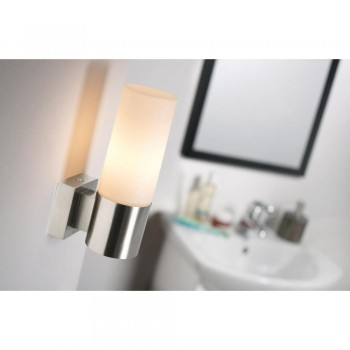 Nordlux Tangens 17131032 Brushed Steel Wall Light