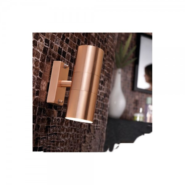 Nordlux Tin 21279930 Copper Double Wall Light