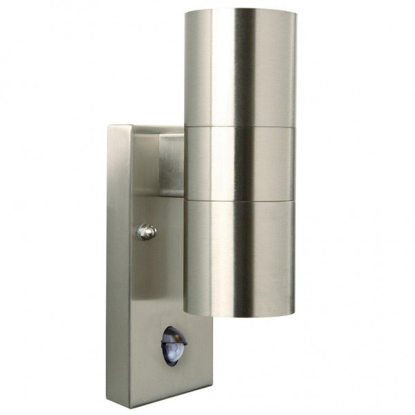 Nordlux Tin 21279934 Stainless Steel Wall with Sensor Light